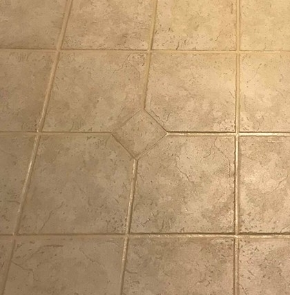 New Grout Lines -