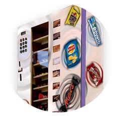 Slimline-vending