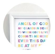 Angel of God Printable