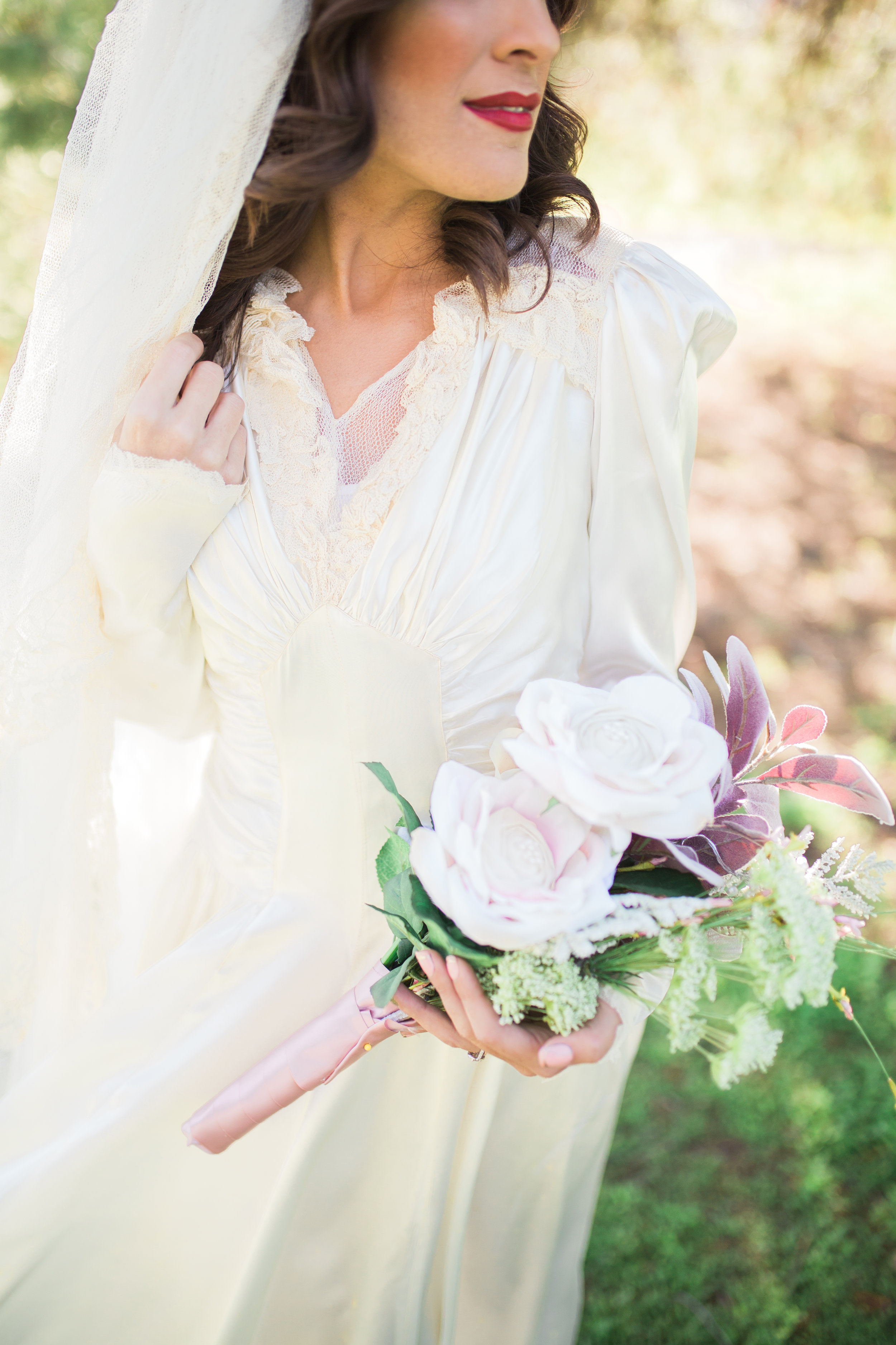 Monica Jazmine Photography , from our  1940s-inspired vintage styled shoot
