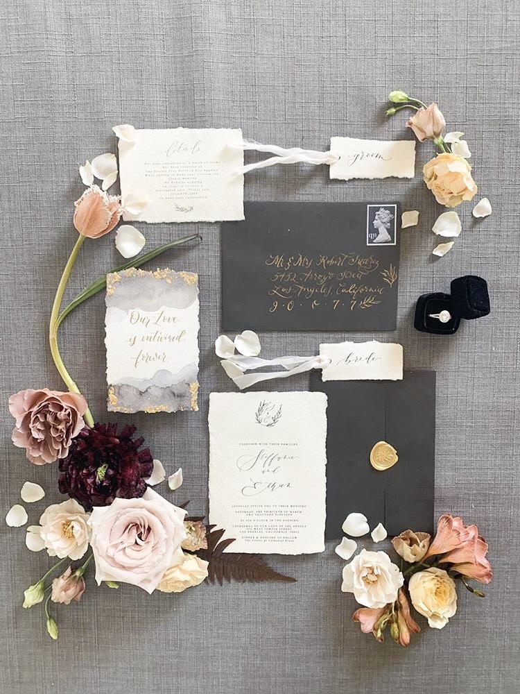 Invitation Design Sea & Sun Calligraphy.JPG