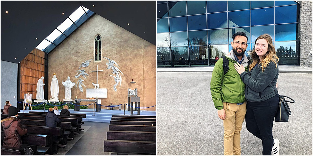 Location:  Our lady of Knock Shrine, Ireland .