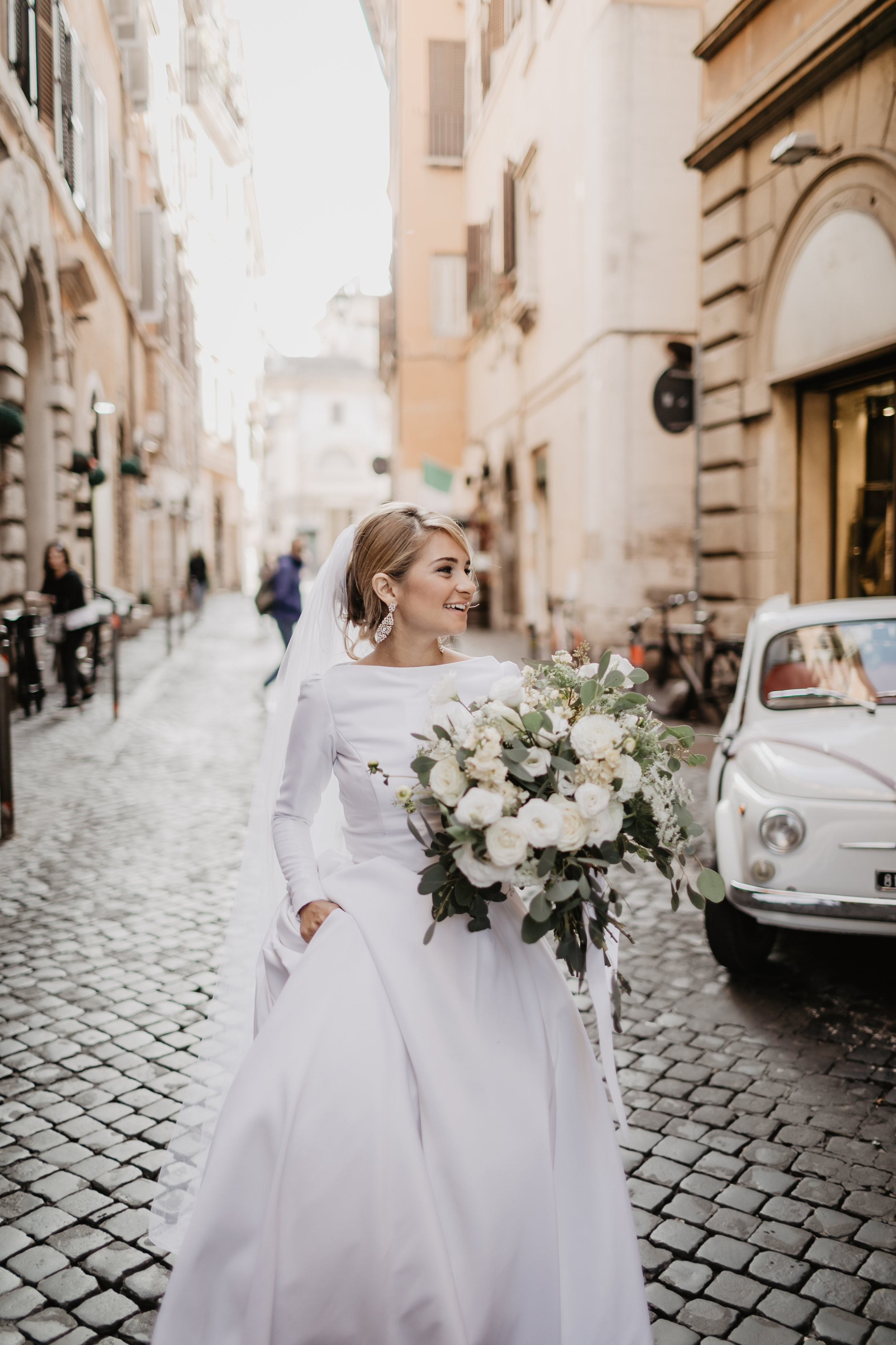 Photography: Aberrazioni Cromatiche Studio, seen in    Fabiola + Cole | Vatican City Basilica Wedding