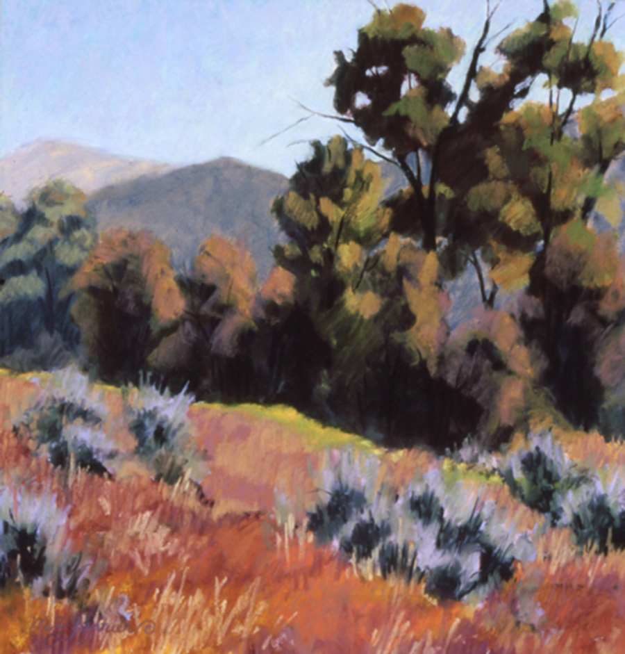 Badger Creek Way     Pastel      Private Collection