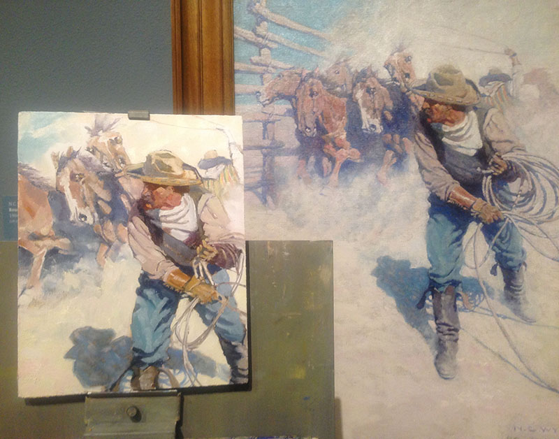 Copy of a NC Wyeth