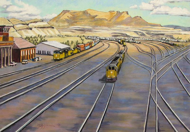 Vastness of the Train Yard