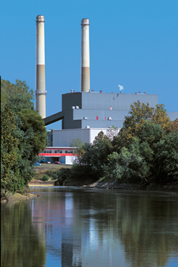 FRANK E. RATTS GENERATING STATION   (PHOTO source:    HOOSIER ENERGY   )
