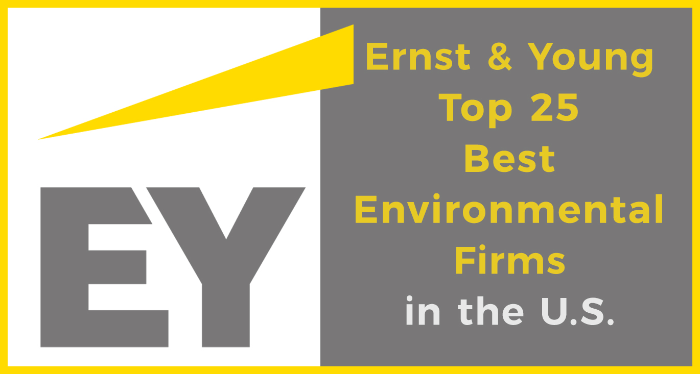 Ernst & Young Top 25 Best Environmental Firms in the U.S.