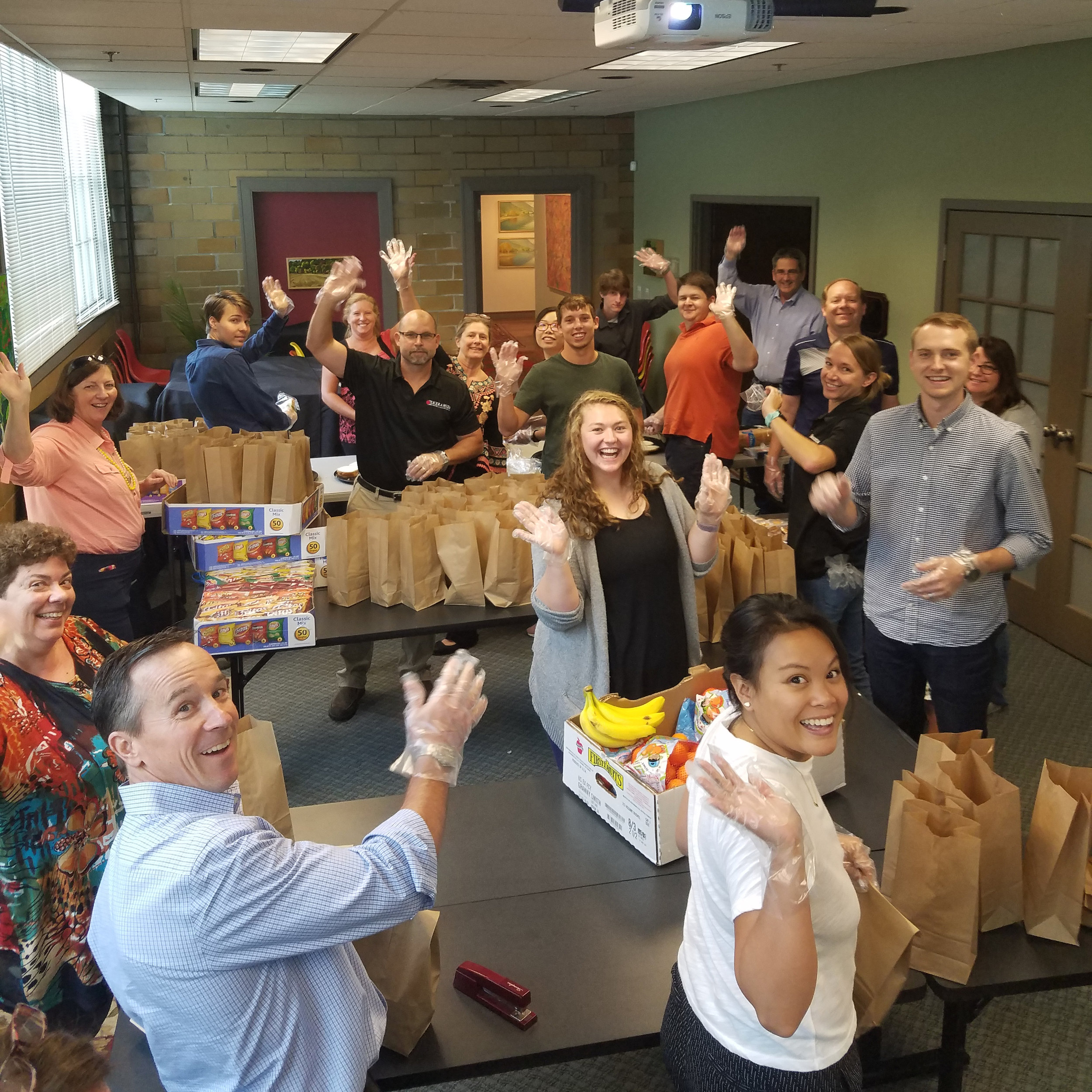 KERAMIDA Employees Coming Together To Give Back To Our Indianapolis Community