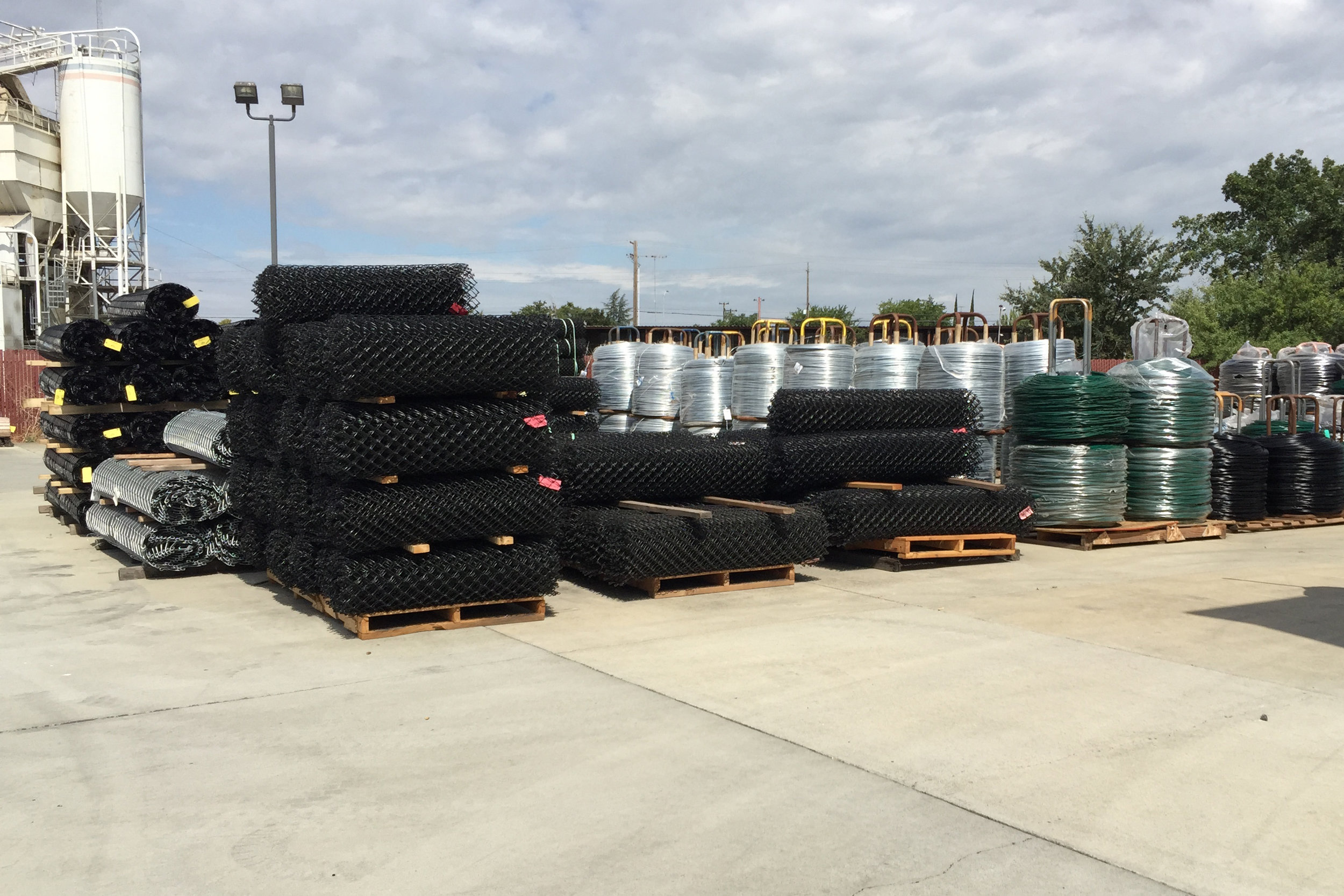 Storm Water Compliance Services for California based Fence Manufacturing Facility