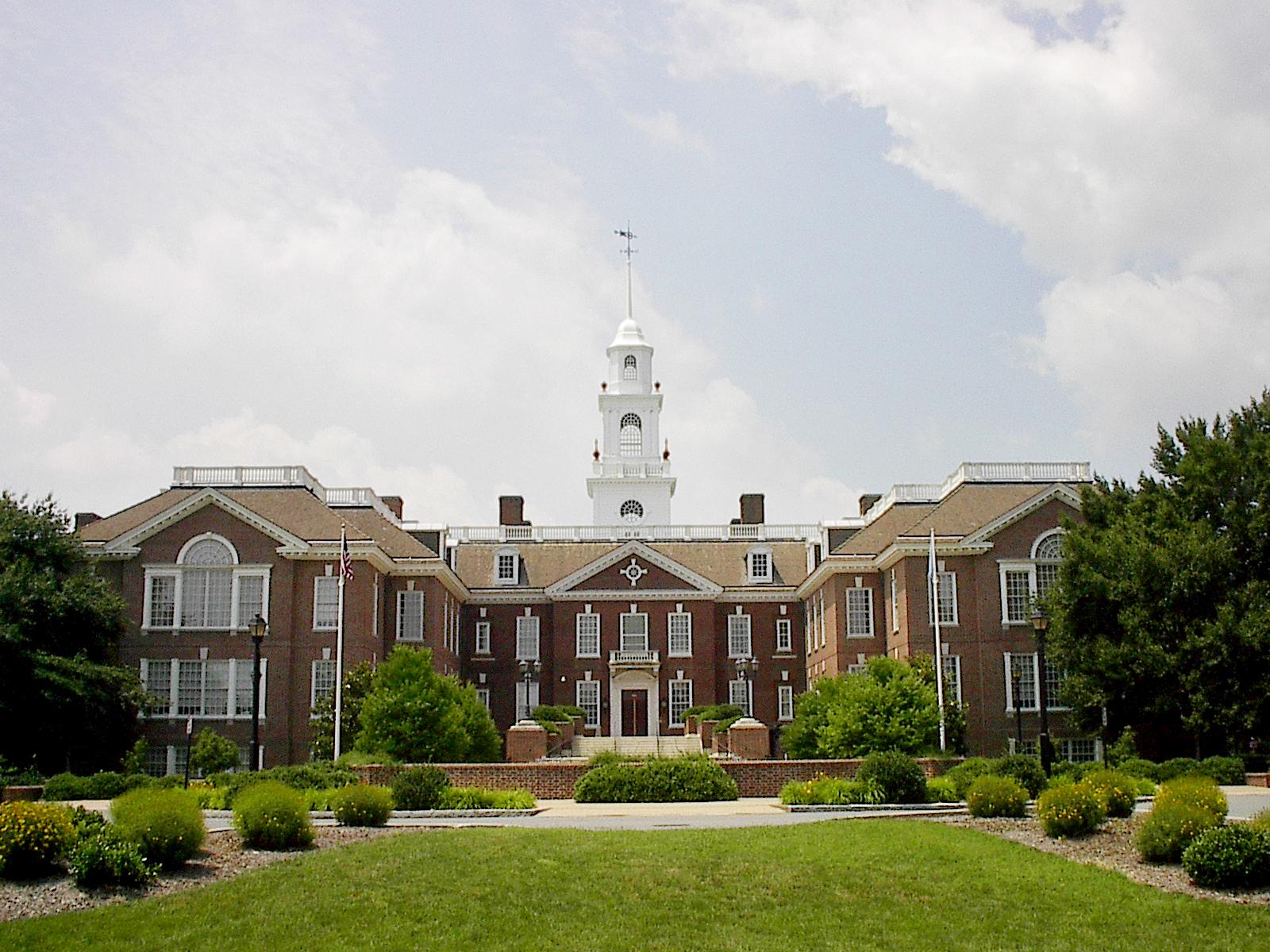 The Delaware State Capitol in Dover, Delaware