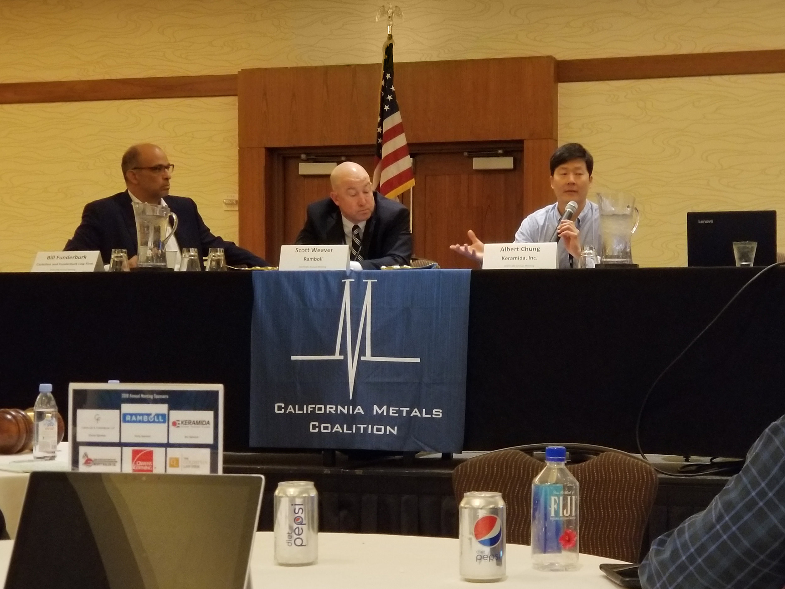 "KERAMIDA's Albert Chung, Ph.D. participating in the panel discussion ""Looking into the Regulatory Crystal Ball… not the Rear View Mirror."""