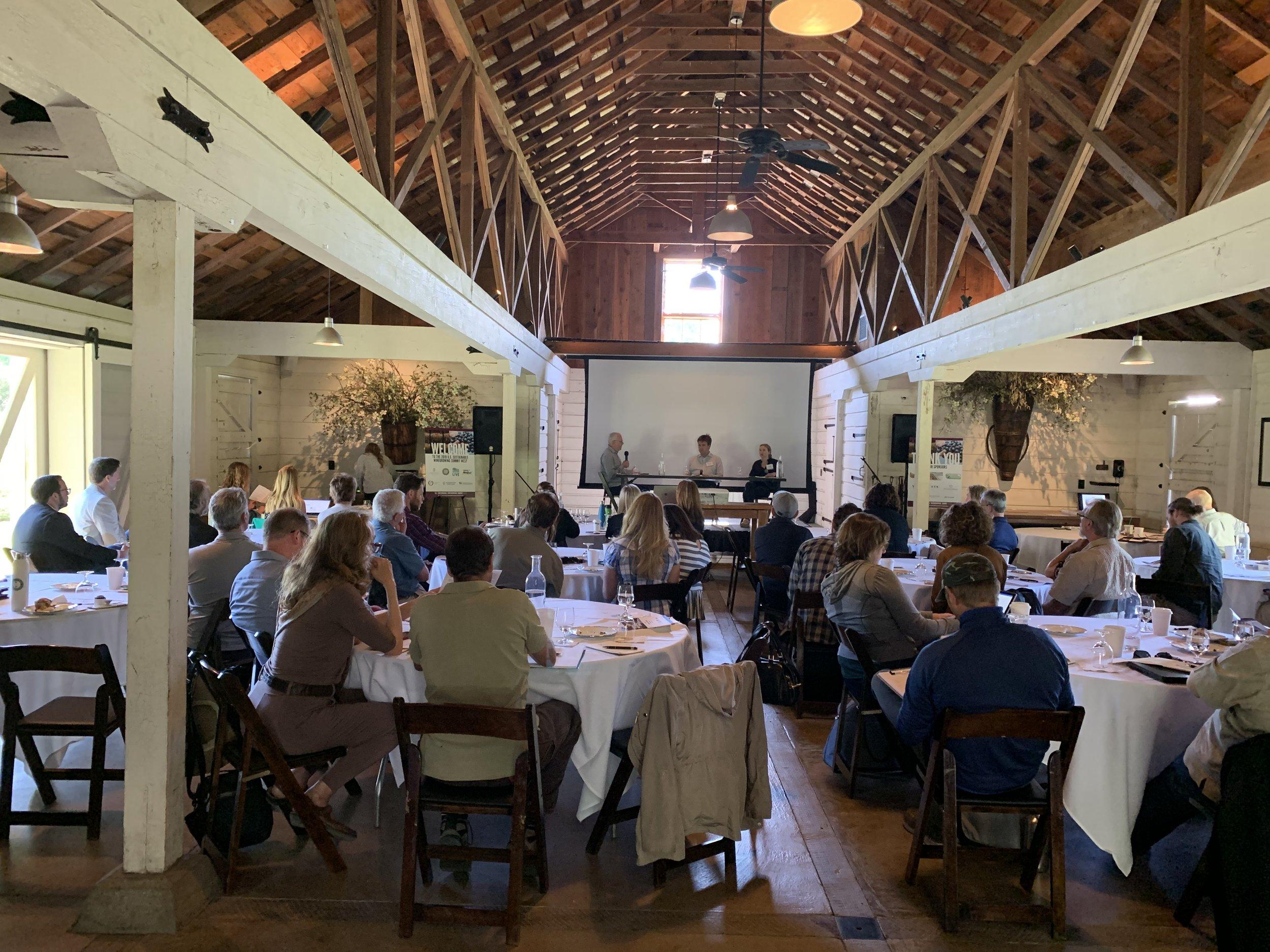 2019 U.S. Sustainable Winegrowing Summit West