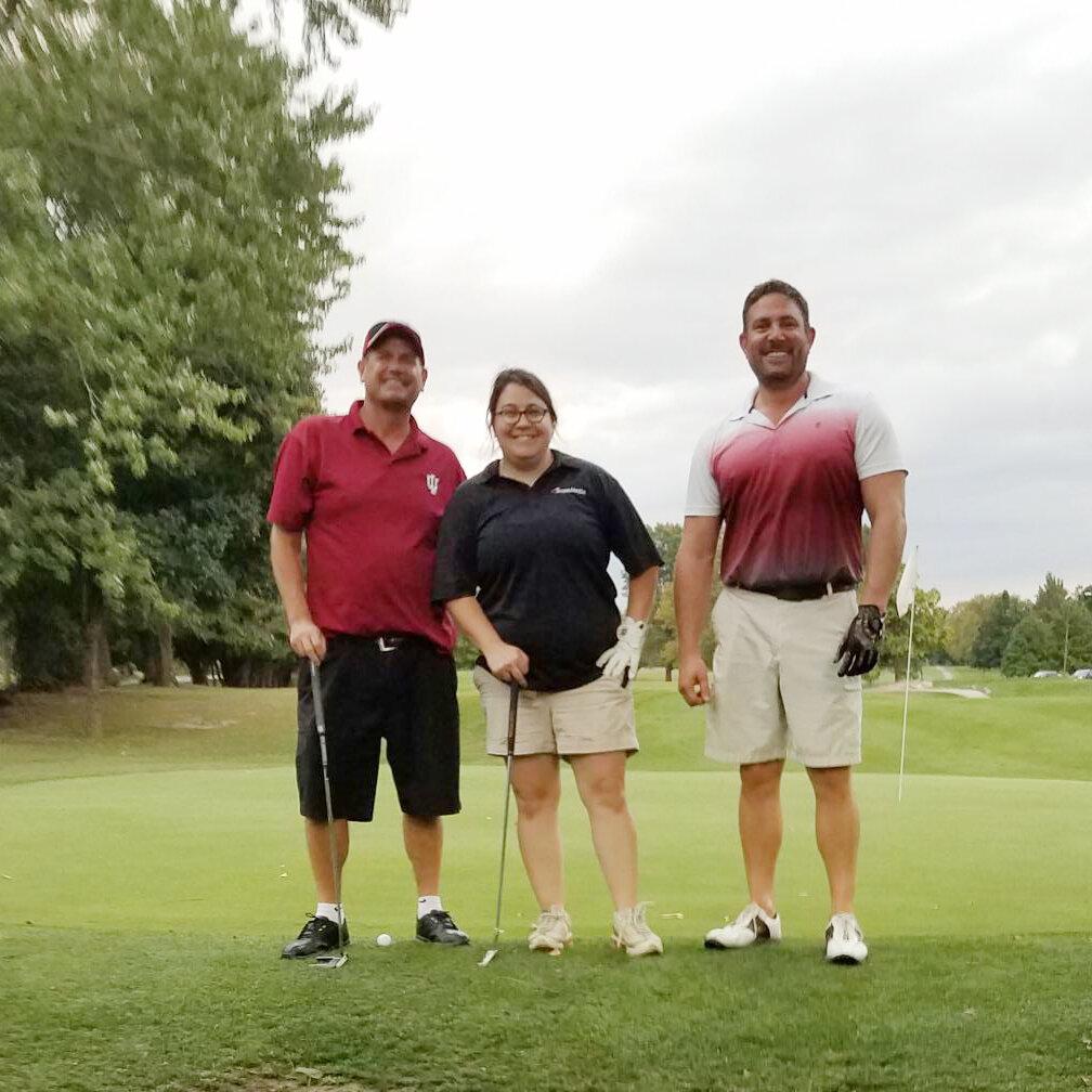 Tim Higgins, Chelsea Conduitt, and Kevin Burkett