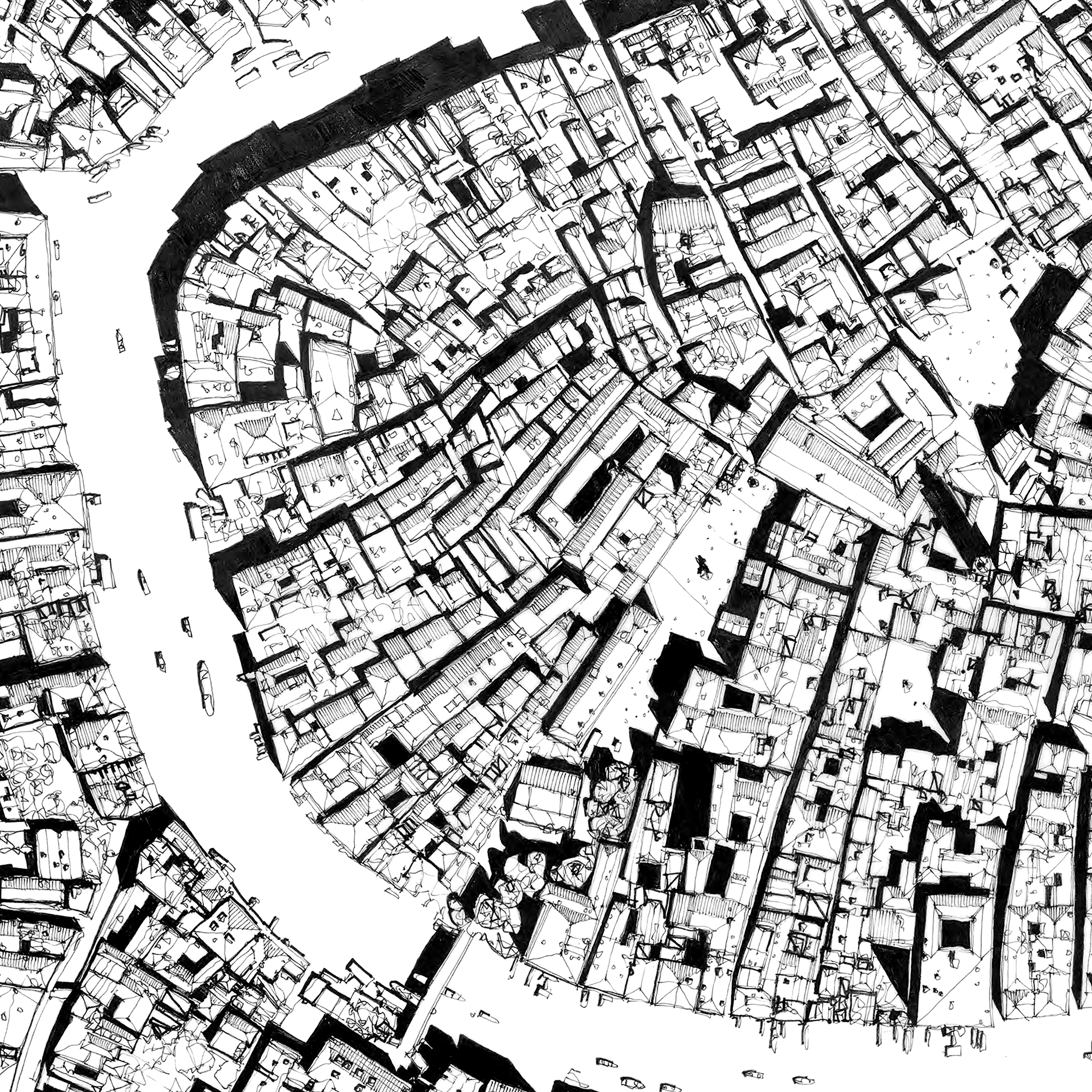 Rooves of Venice