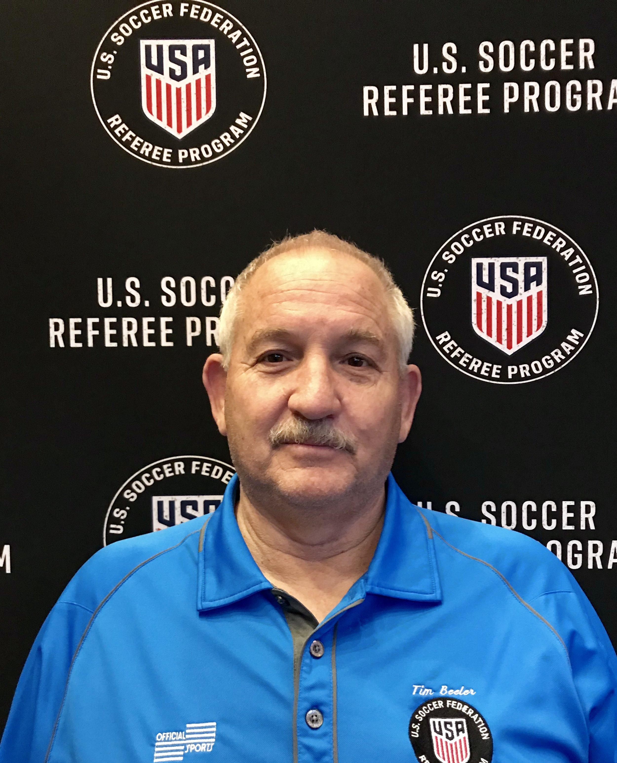 Tim Beeler  State Referee Administrator State Instructor