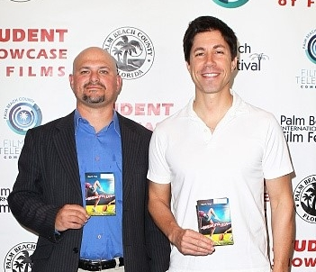 Mark Marchillo , Director (right)and  Micah Brandt , Producer (left), Breaking Legs | Film Block 2D