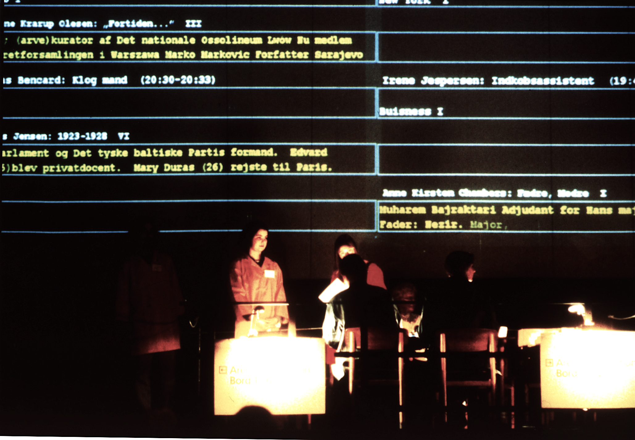 """""""Memory Arena"""", Copenhagen, 1996. Photo: Dirk Bleicker"""