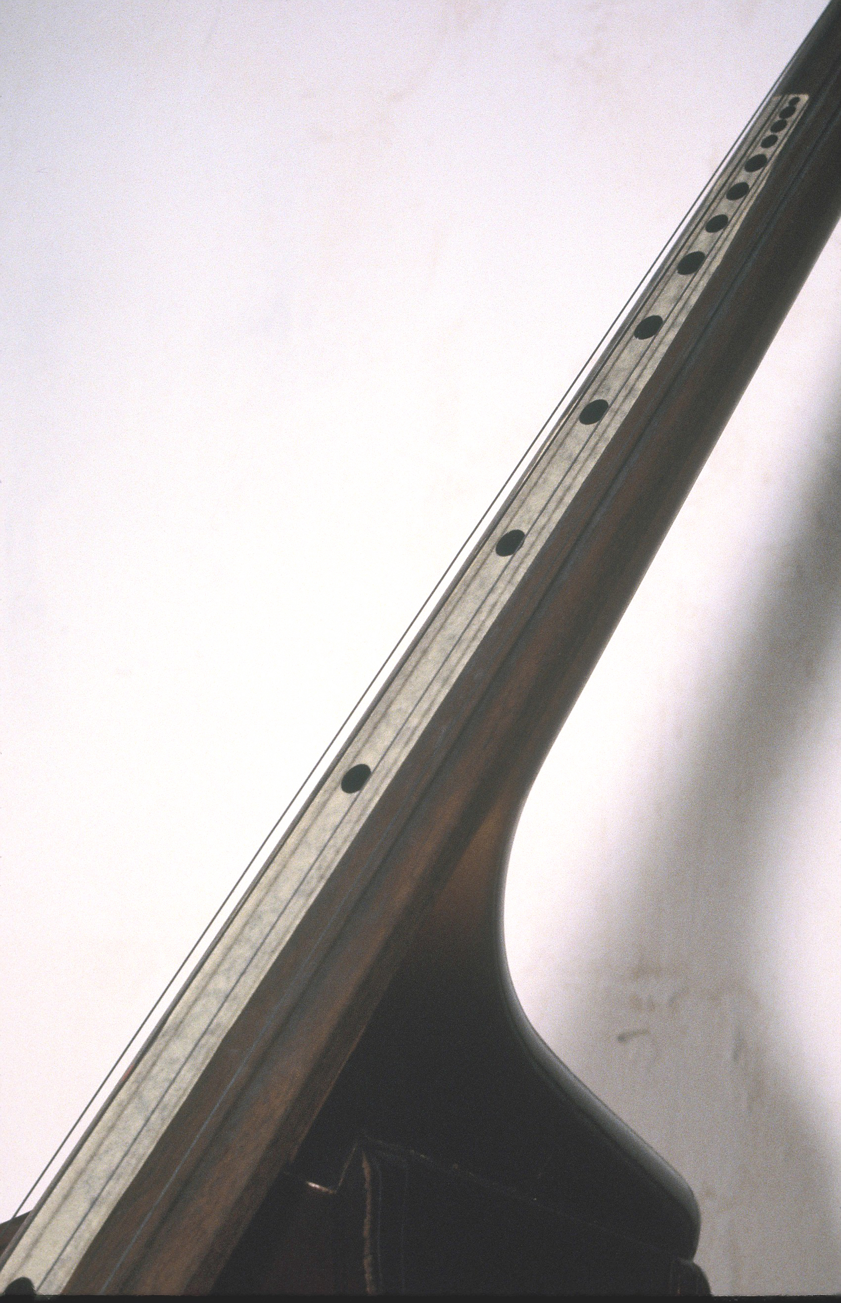 Excited String Bass with Harmonic Markings, Fulton Street Studio, 1979