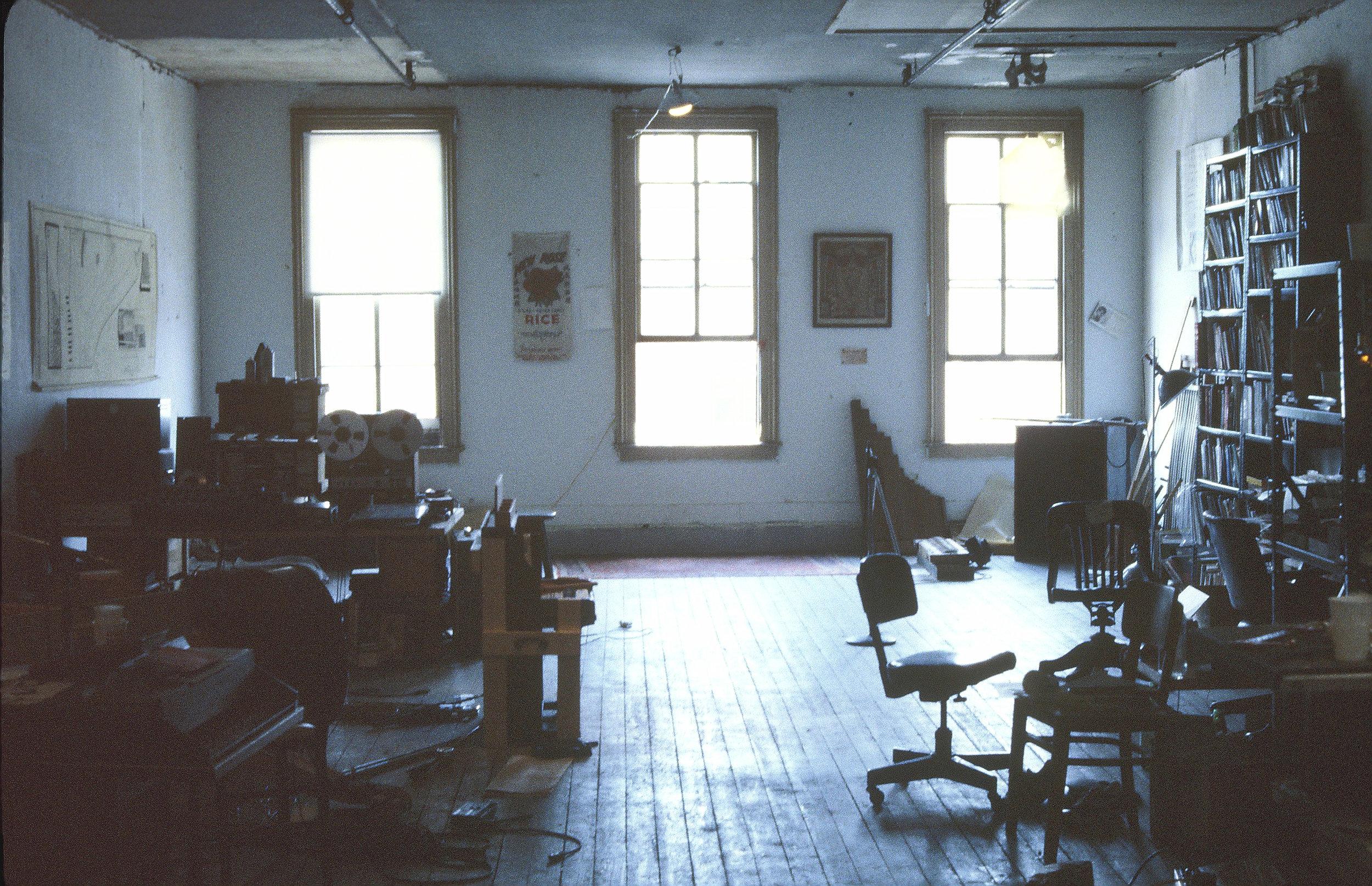 Studio, Middletown Ct., 1981