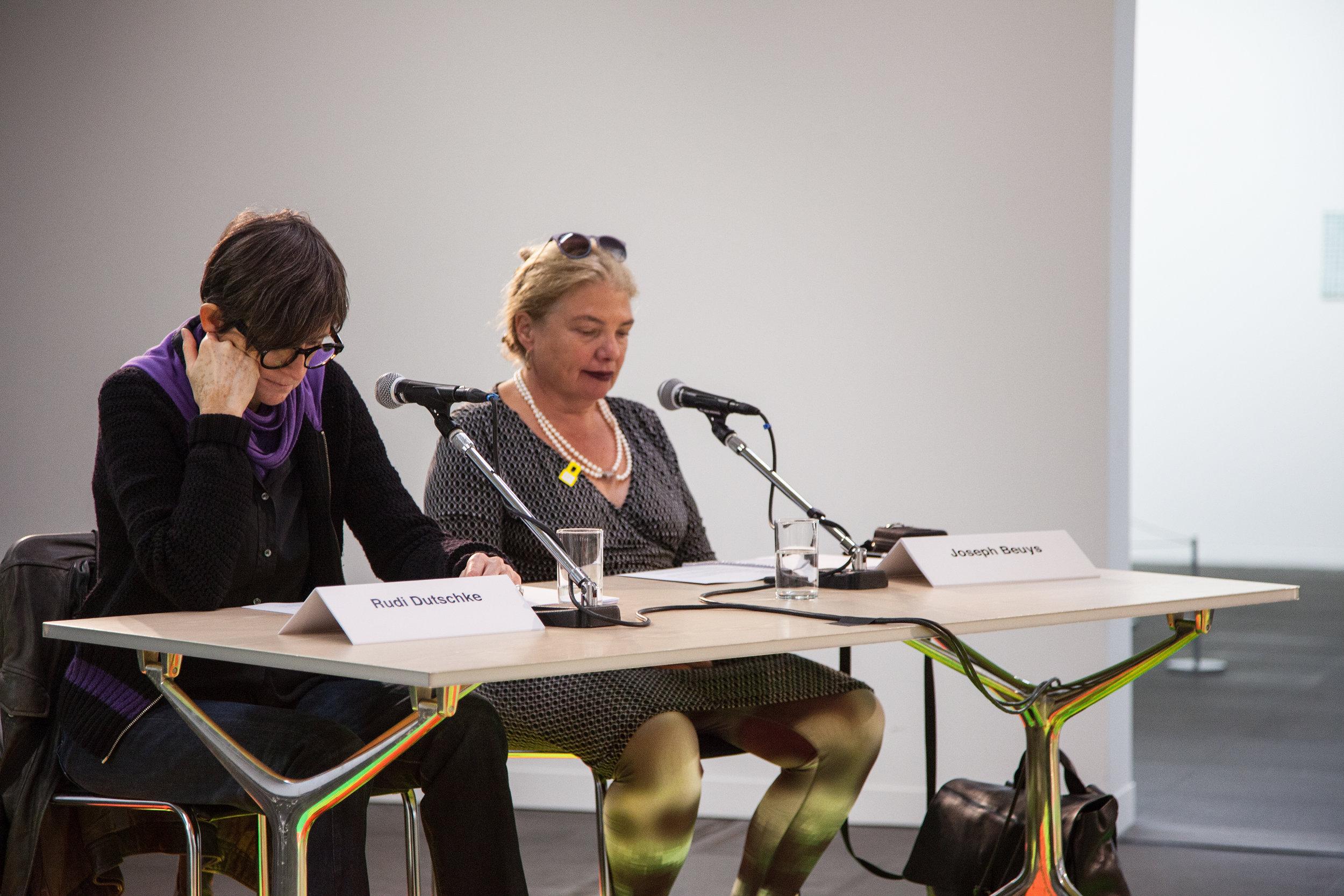 Gisela Kleinlein and Nele Ströbel