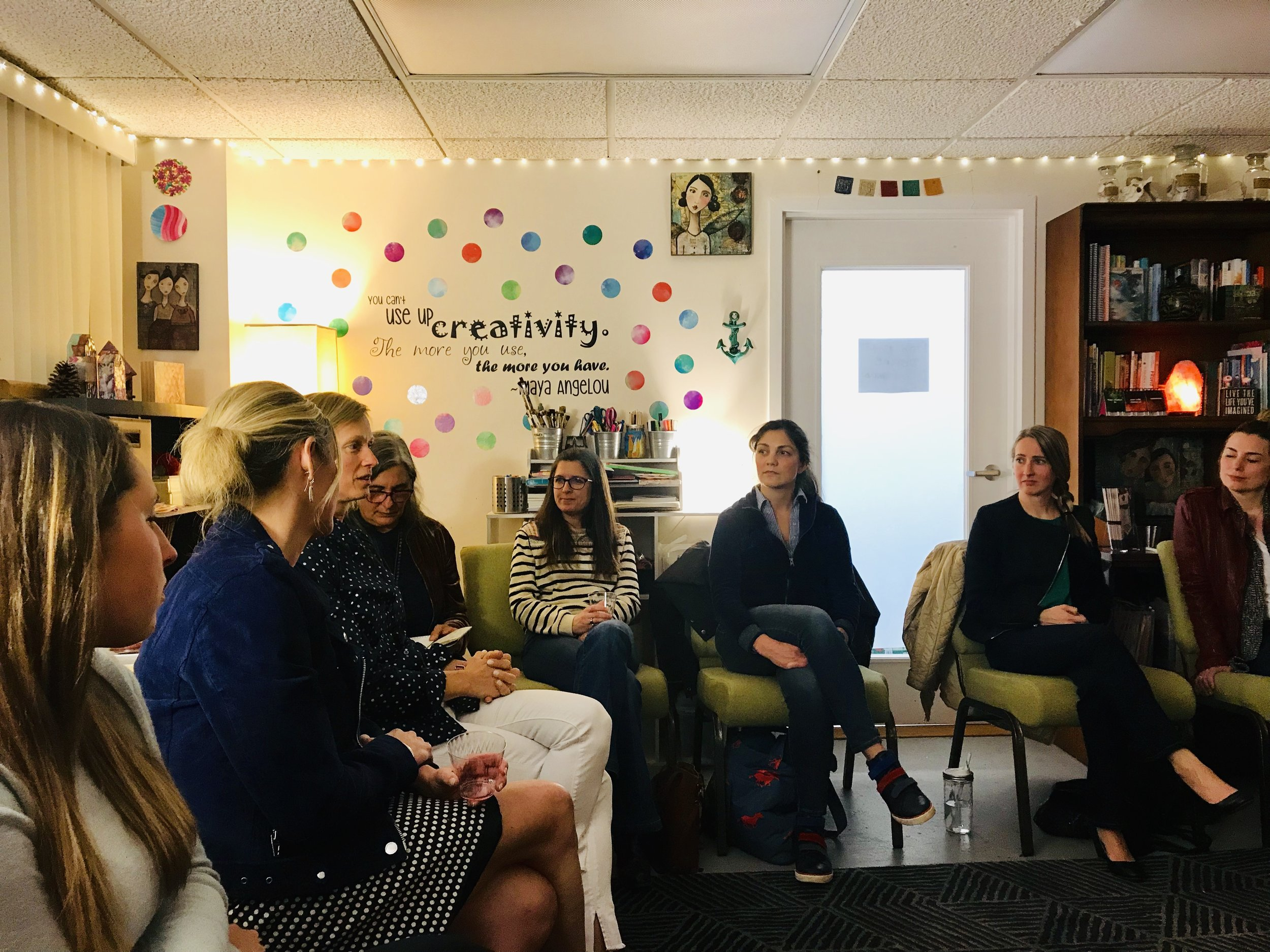 April Spark Session  , The Artful Life, Beverly