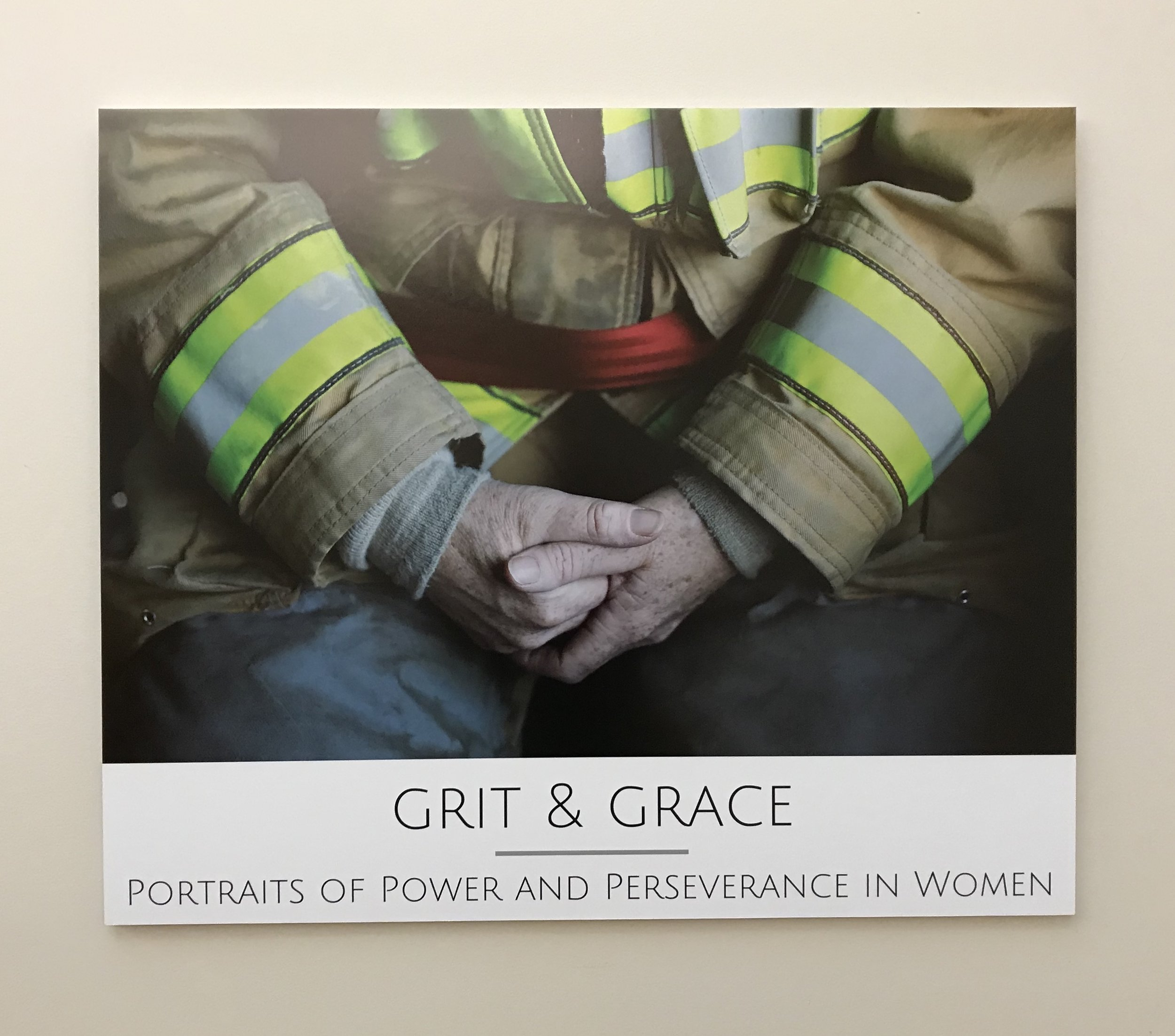 The Grit & Grace Exhibit at the Hamilton-Wenham Library