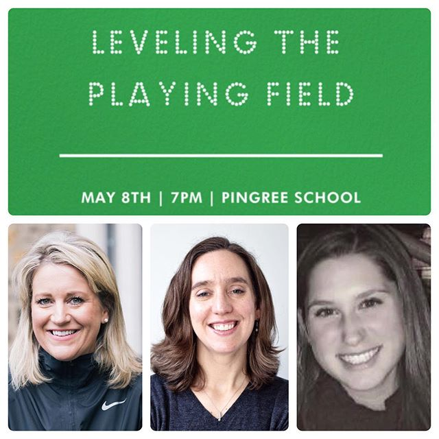 We're so excited for May 8th @ Pingree School!  Please join for a conversation about women and the future of sport with local leaders in the space (Nike, New England Sports for Women, Indianapolis Colts). We'll hear about the panelists' journeys - as athletes and leaders with a passion for sport, gender equity and how sports skills translate to life and leadership skills for the next generation of girls.  The evening will close with a reception and refreshments.  Thank you @pingreeschool for hosting! Get your tickets today ($10 Spark members/ $25 guests) - link in bio!