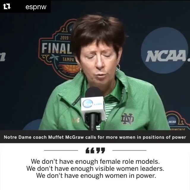 Mid-week inspiration from Muffet McGraw, head coach of Notre Dame Women's basketball. 🙌🏻 Leveling the Playing Field is a week away!  Join us on May 8th at Pingree School to hear about the journeys of local leaders @lwaldr @alexbarmore @annasiedzik  Link to tickets in bio 👆🏻- advance purchase suggested!  #celebratewomen