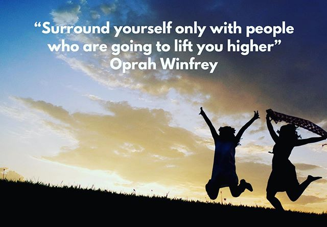 Lift each other up! #positivity #connect #inspire #grow #wednesdaywidsom #community #celebratewomen #justkeepsayingit
