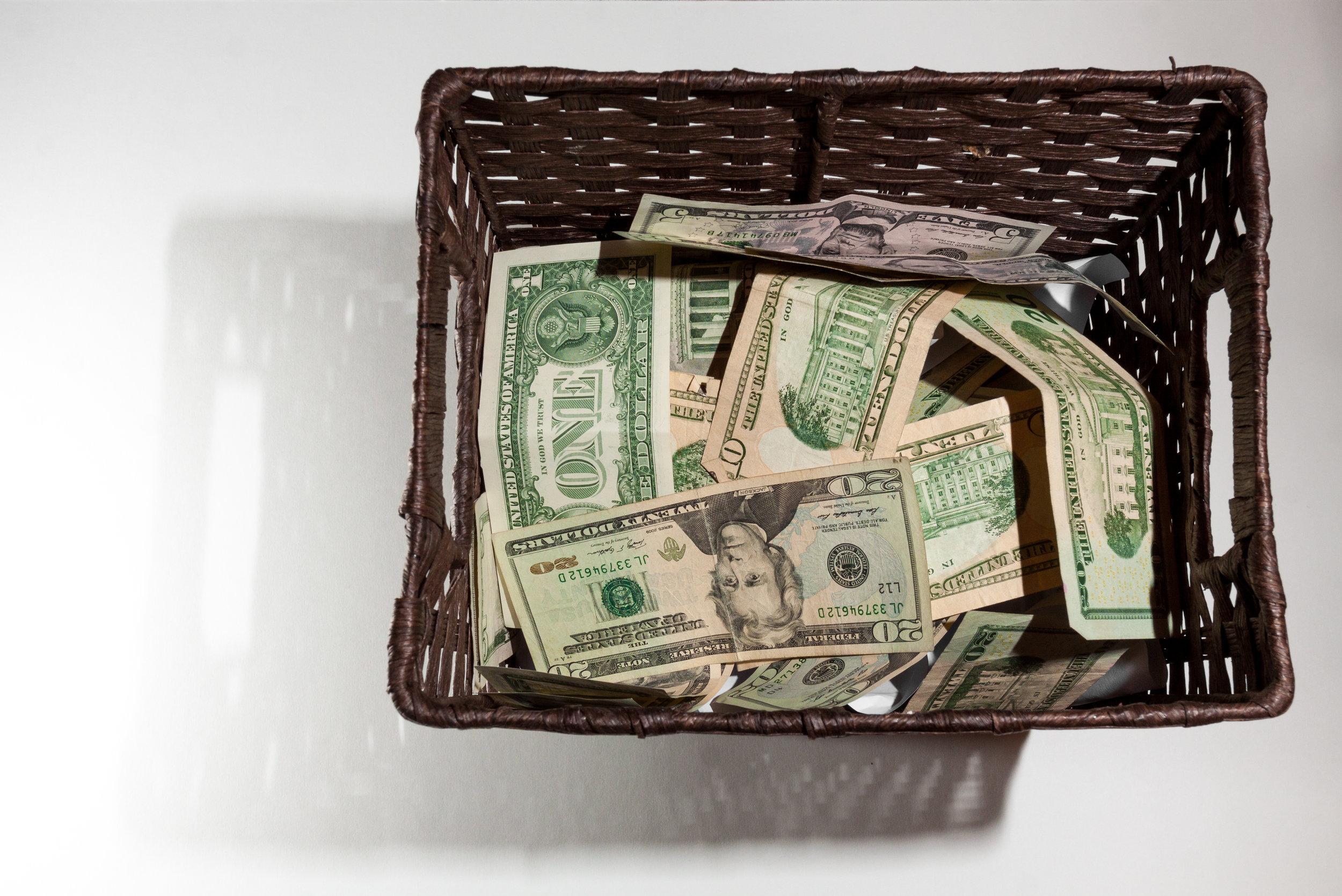 Money in Trash for School Project.jpg