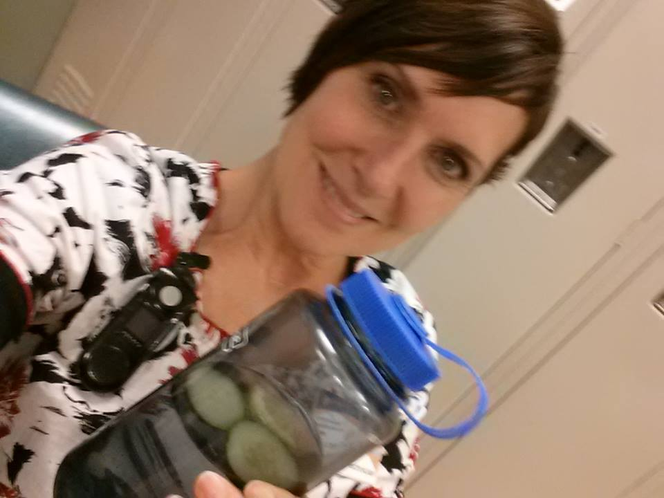 Annette Kreger water bottle selfie.jpg