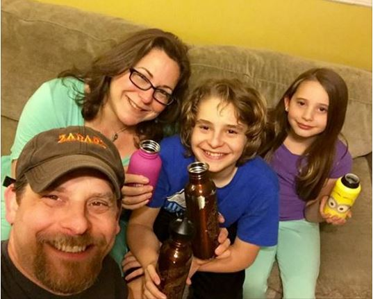 """The Mogel family from Monticello New York are a true inspiration. Very rare that an entire family takes the Plastic Free Challenge and leads by example by posting.  """"We are taking the  #PlasticFreeChallenge to protect the environment, and this is our  #WaterBottleSelfie . We challenge (names are hidden to protect the innocent).Heck, I Challenge anyone and everyone who wants to participate!"""""""