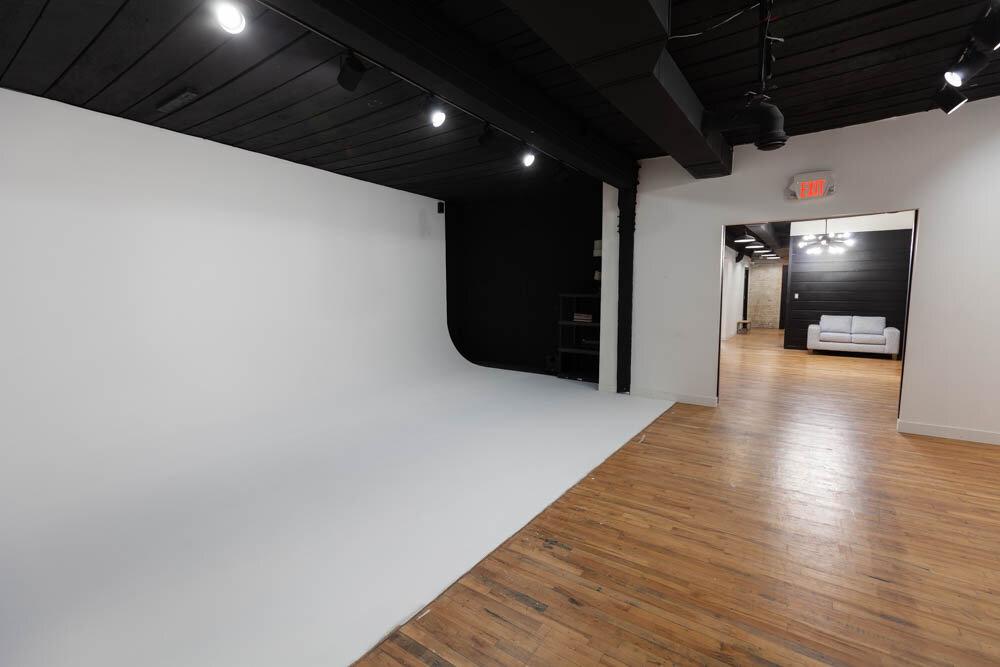 Studio A - Barn Door Entrance