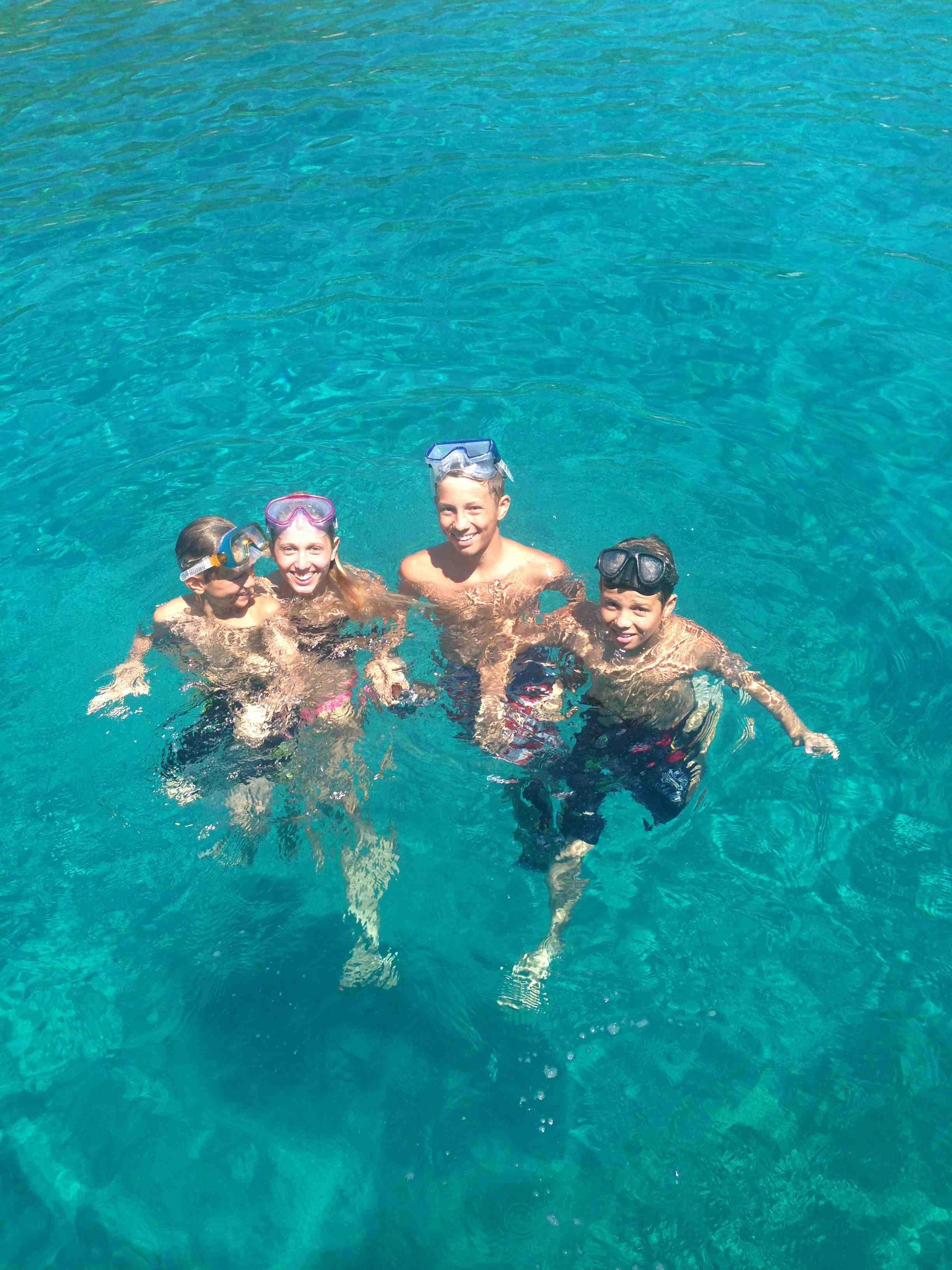 Princess Marie-Chantal - the children in the sea in Greece.jpg