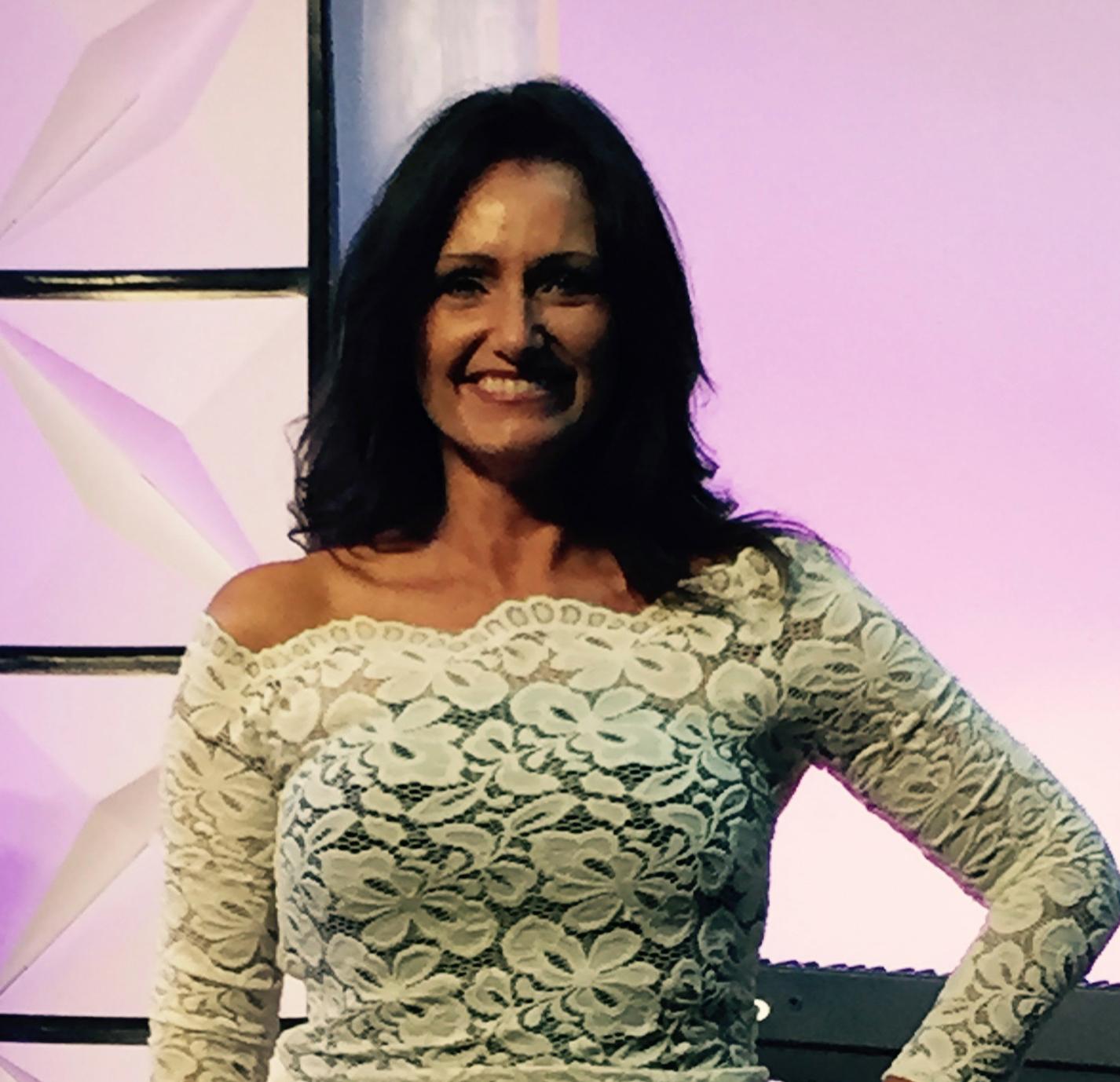 Michaela at Kay Bain show.jpg