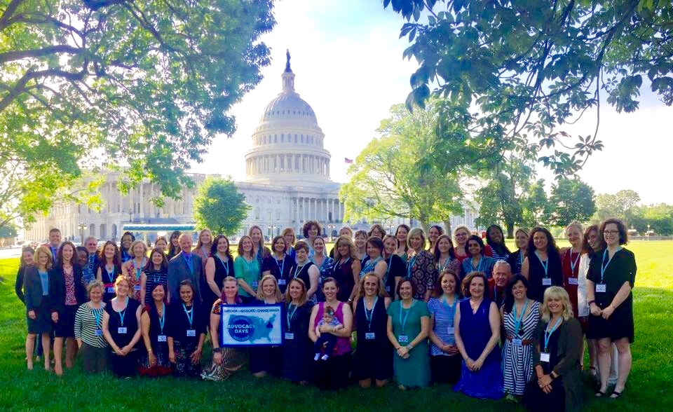 The National Coalition Maternal Mental Health, Lobby Day 2017