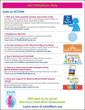 #ACTION4Moms Rally Calls to ACTION Click to Download