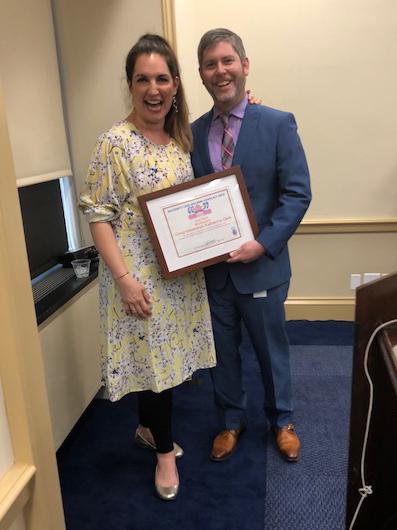 The Maternal Mental Health champion award