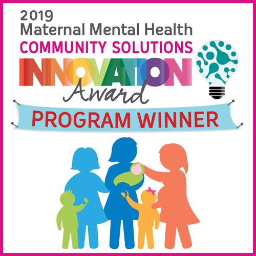 2019 Maternal Mental Health Community Solutions Innovation Award Program Winner