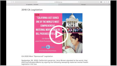 CA MMH Laws, Overview of Resources Webinar