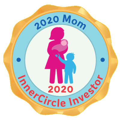 2020 Mom InnerCircle Investor 2020 Badge  Click to download.