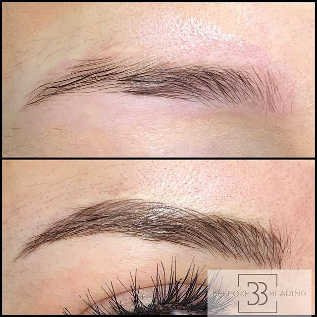 Absolutely in LOVE with these Nano Blades brows done today! If you are after totally natural then this is the treatment for you! Stunning xx
