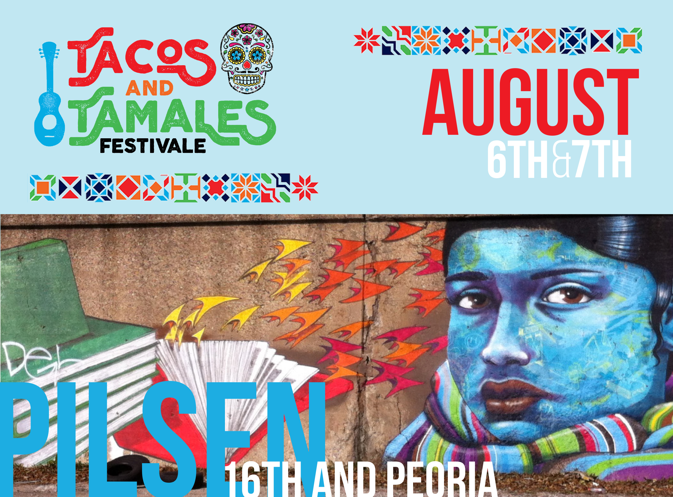 SUNDAY 08.07.16 2-4pm -    NuBambu  - CHICAGO, IL -  TACOS & TAMALES FESTIVAL