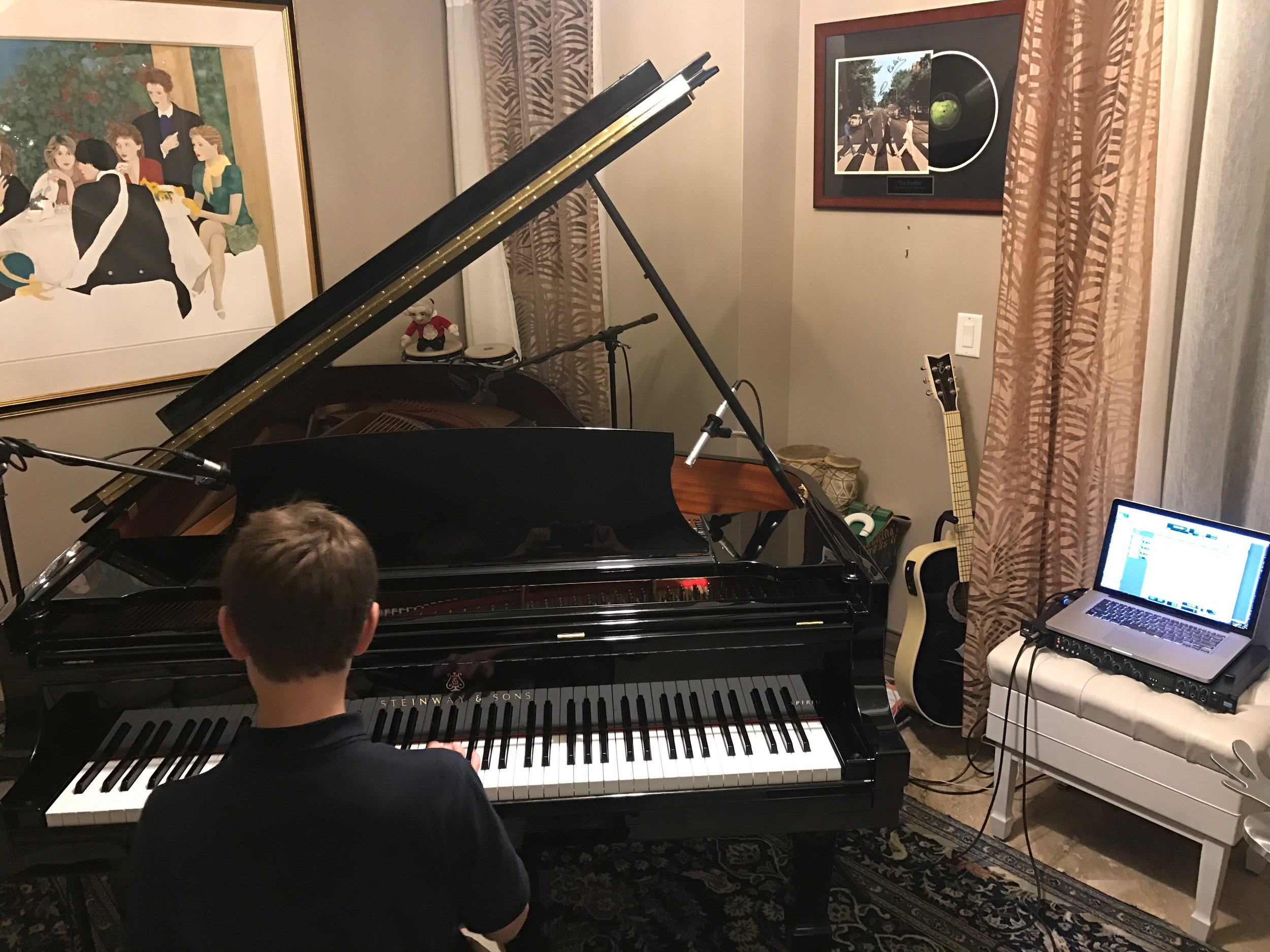 Recording — J W R  Tampa Bay Piano