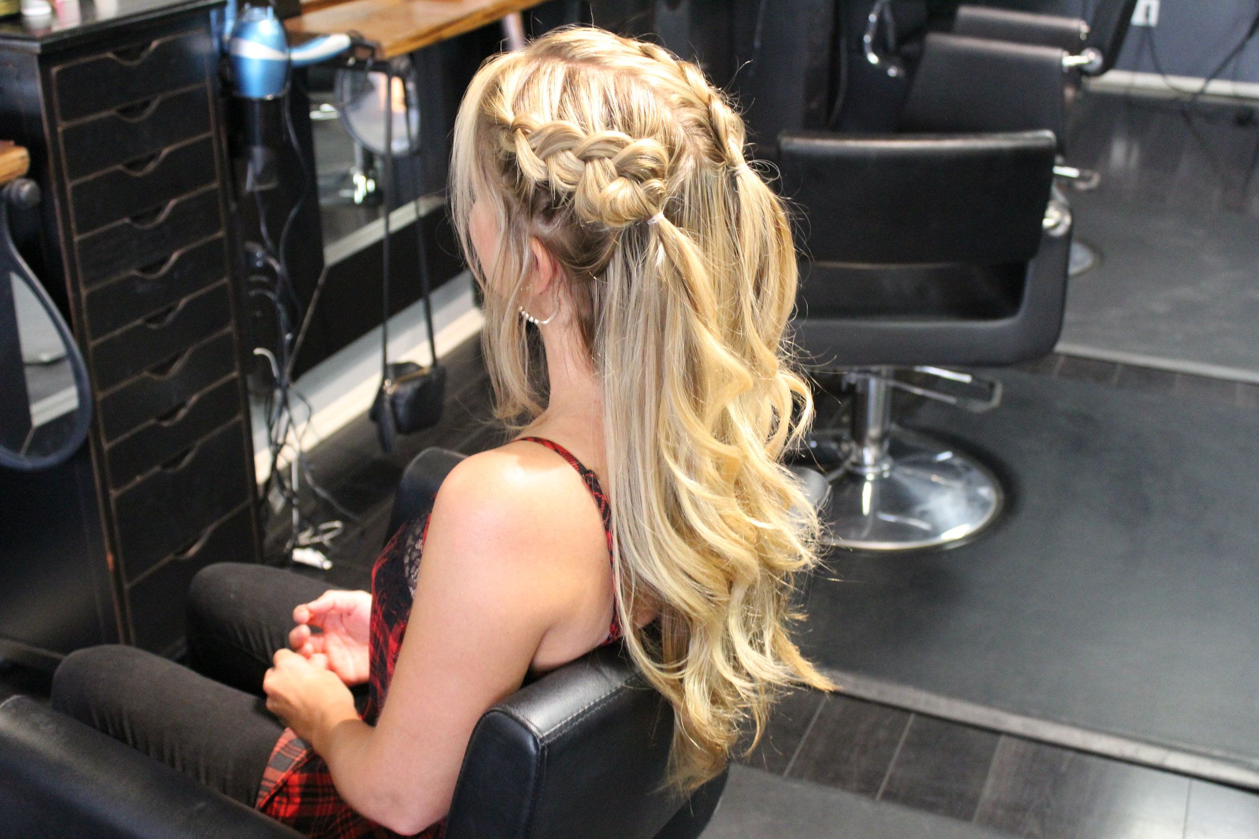 Loose Braided Pigtails - What could be more fun than pigtails?! This modern take on the pigtail is effortless with loose braids.