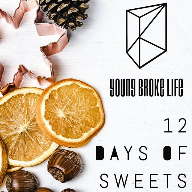 It's holiday crunch time and we're so excited! Young Broke Life's 12 Days of Sweets starts on Monday. Each day we'll feature our favorite sweet treat recipes this year. Follow along @youngbrokelife  _________________  #delish #baking #sweets #foods #eeeeeats #instalike #desserts #food #sweettooth #feedfeed #holidaybaking #foodporn  #phoenixaz #ig_arizona