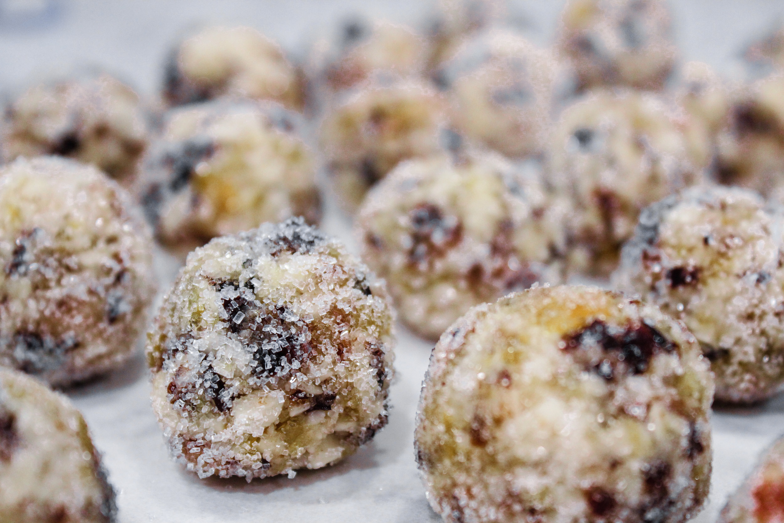 YBL Holiday Sugar Plums, a boldly spiced and healthy energy ball.