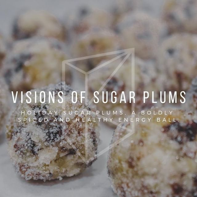We are kicking our 12 days of sweets off with this Holiday Sugar Plums recipe. 🍬 Boldly spiced, healthy, raw, vegetarian, and gluten-free they're the perfect treat. 🤤  Link in bio. #baking #feedfeed #huffposttaste #buzzfeast #foodblogfeed #buzzfeedfood #foodaddict #dairyfree #healthyfood #wholefoods #raw #blissballs #rawfood #recipe