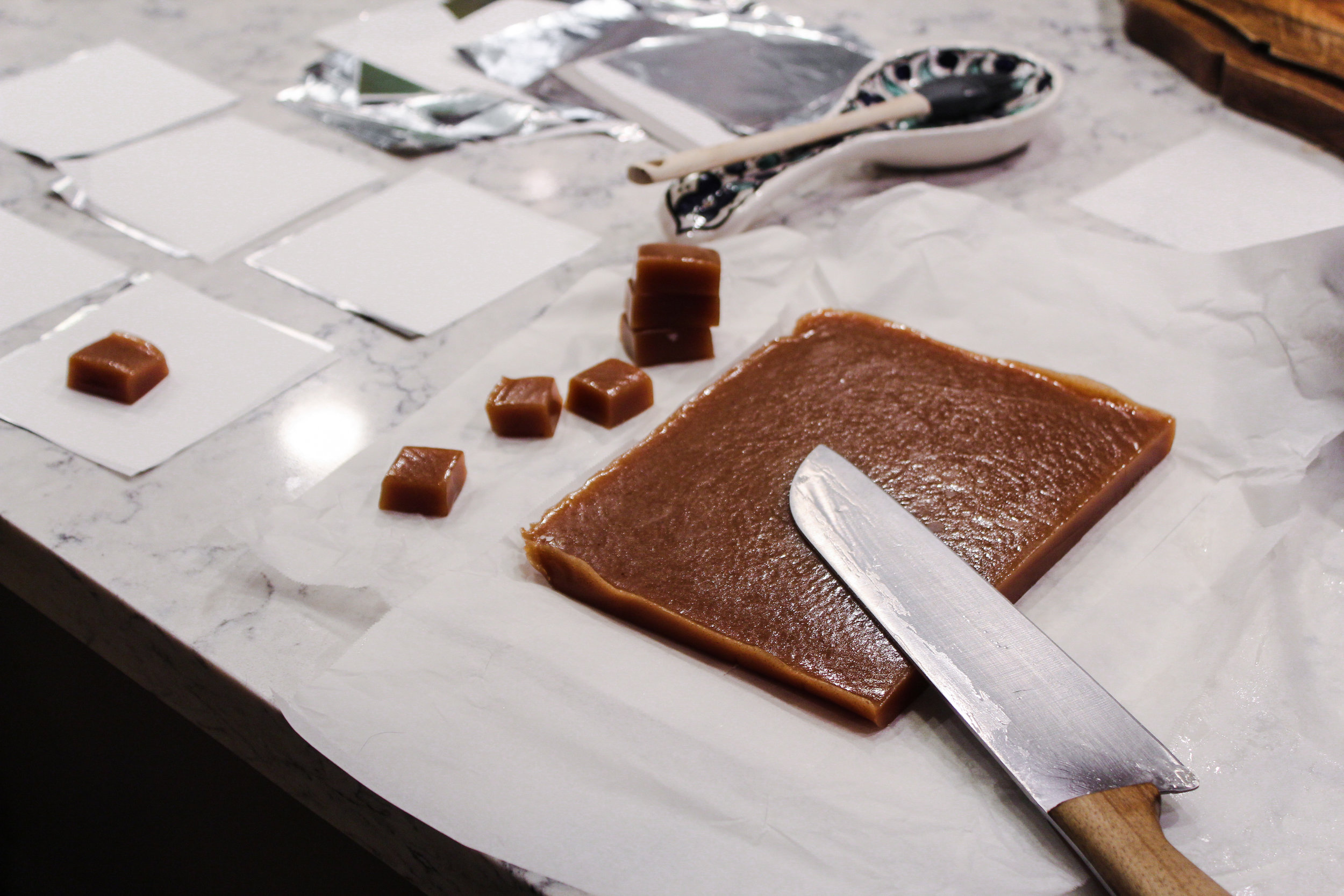 The perfect caramels took 6 years of testing, combining techniques, and experimenting.